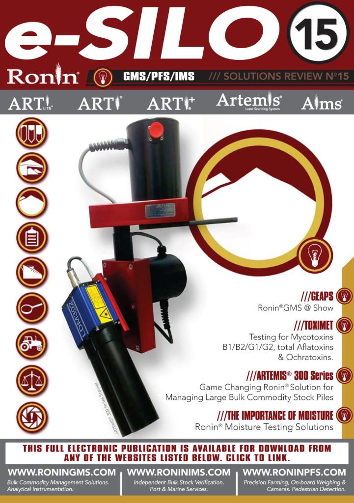 Ronin e-Silo Newsletter 15